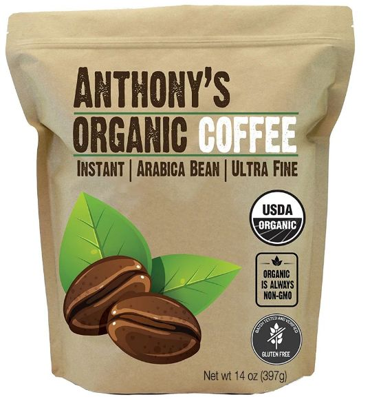 Organic Instant Coffee from Anthony's