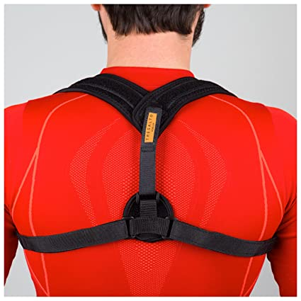 VOELUX ADJUSTABLE FIGURE 8 BACK POSTURE CORRECTOR AND CLAVICEABLE BRACE